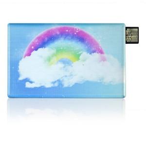 Business Card Corner USB Flash Drive, Business Card Memory Stick