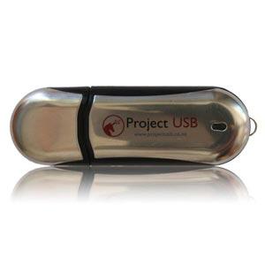 Aluminium Cruise USB Flash Drive Aluminium Memory Stick