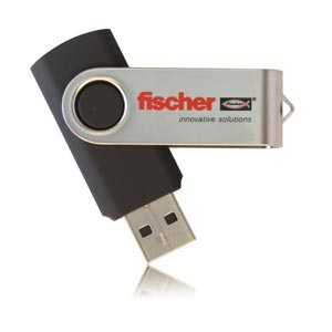 Twister USB Flash Drive Swivel Memory Stick