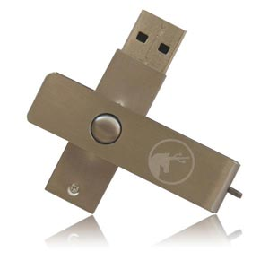 Metal Swivel USB Flash Drive Metal Swivel Memory Stick
